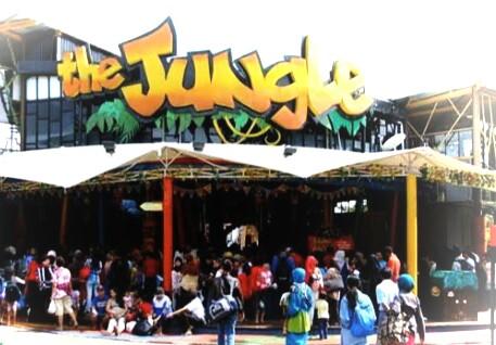 Lebaran Asyik Di The Jungle Waterpark