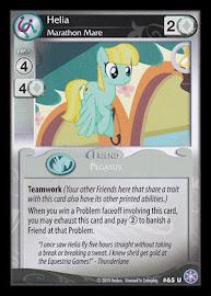 My Little Pony Helia, Marathon Mare The Crystal Games CCG Card