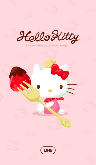Hello Kitty:草莓巧克力