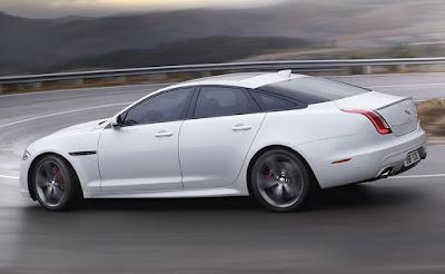 Jaguar XJ Exterior Colors: Glacieer White, Polaris White, Black