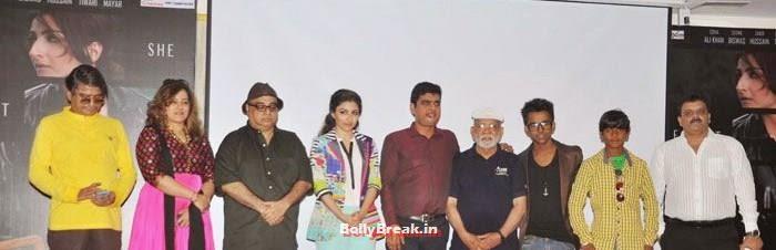 Sunill Khosla, Vibha Dutta Khosla, Rajkumar Santoshi, Soha Ali Khan, Lekh Tandon, Manish Harishankar, Harsh Mayar, Shankar Mandal, Soha Ali Khan Promote Movie 'Chaarfutiya Chhokare'