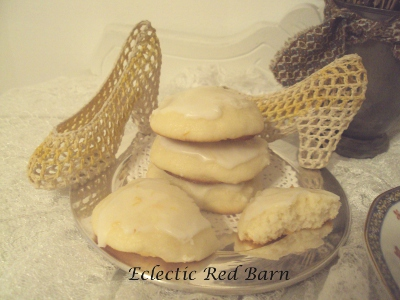 Eclectic Red Barn: Orange Ricotta Cookies