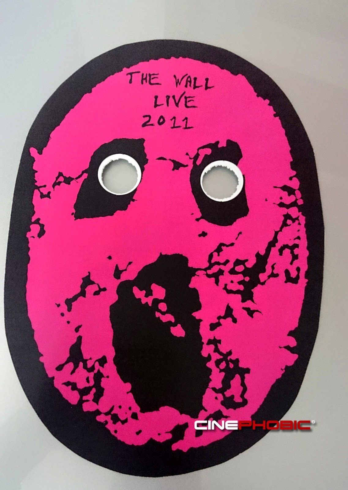 INFO One Of Last 40 Pieces Made For The Concert Wall Live 2011 Numbered