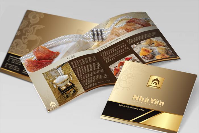 In Catalogue đẹp chuyên nghiệp Nhà Yến