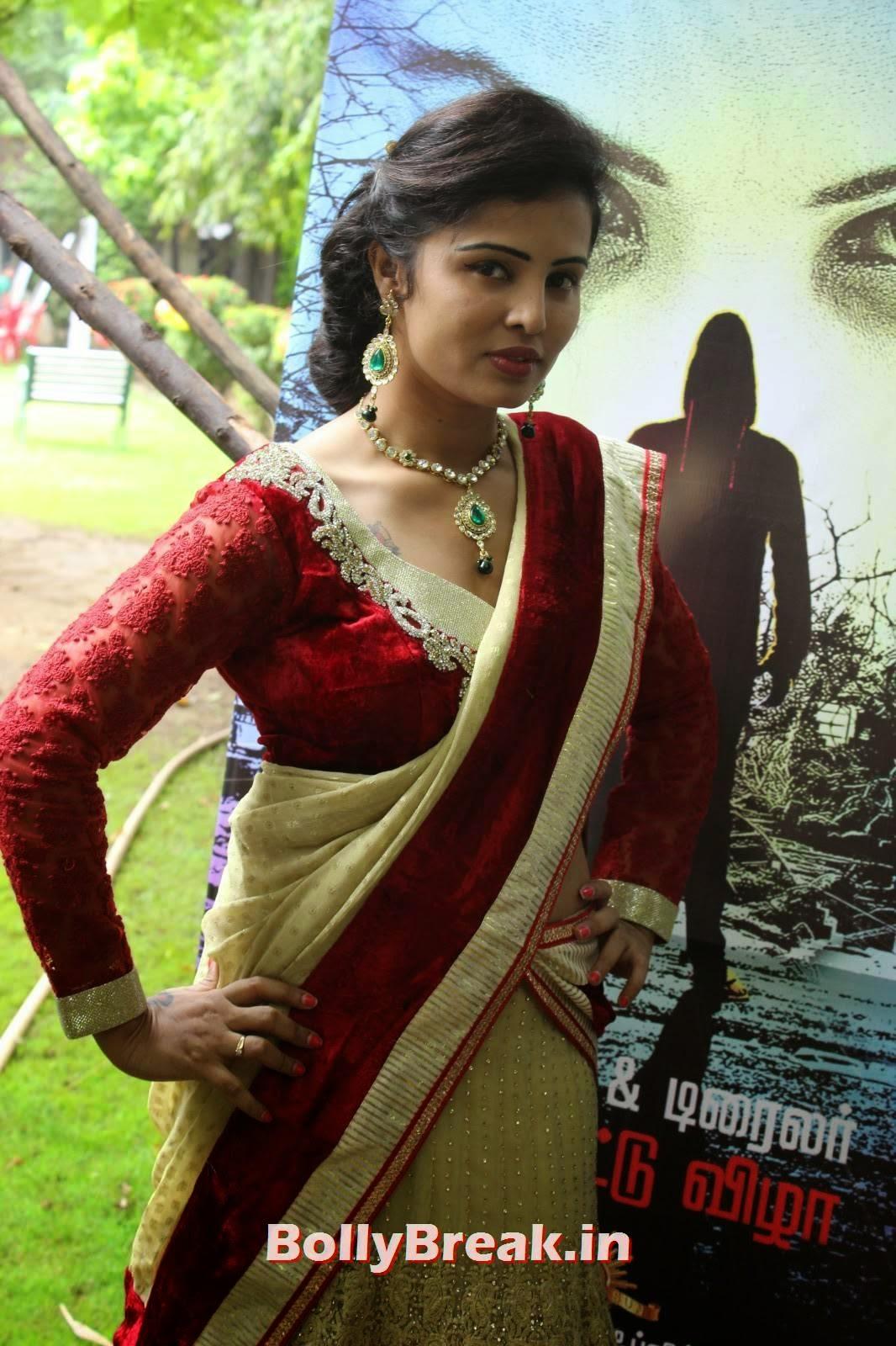 Hashika Dutt Photo Gallery, Actress Hashika Dutt hot Pics in low waist saree