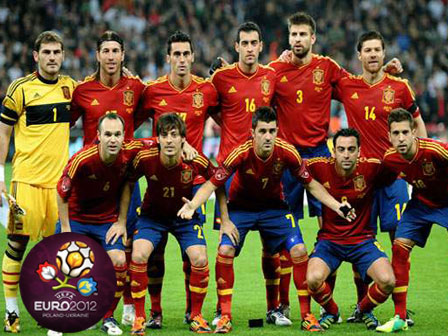 Spanyol Euro 2012 Wallpaper - Gambar Foto Wallpaper