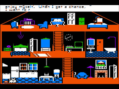 Little Computer People: a game released for the Apple II in 1985