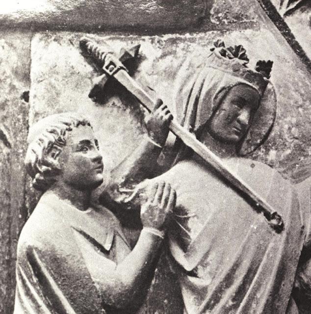 Nossa Senhora libera o cônego Teófilo que vendeu sua alma ao diabo.