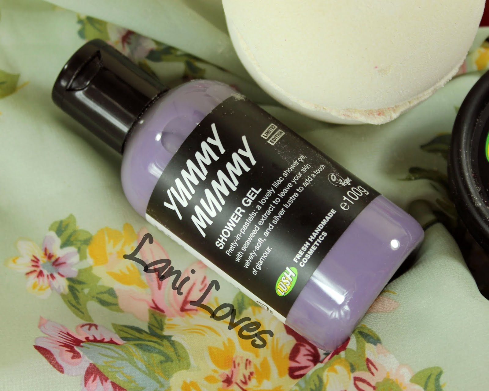 LUSH Mother's Day 2015 Yummy Mummy Shower Gel