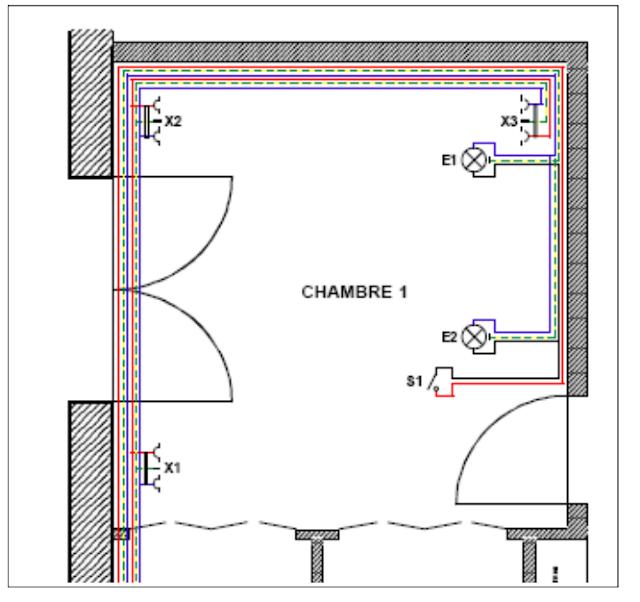 norme d 39 installation electrique dans une chambre schema electrique. Black Bedroom Furniture Sets. Home Design Ideas