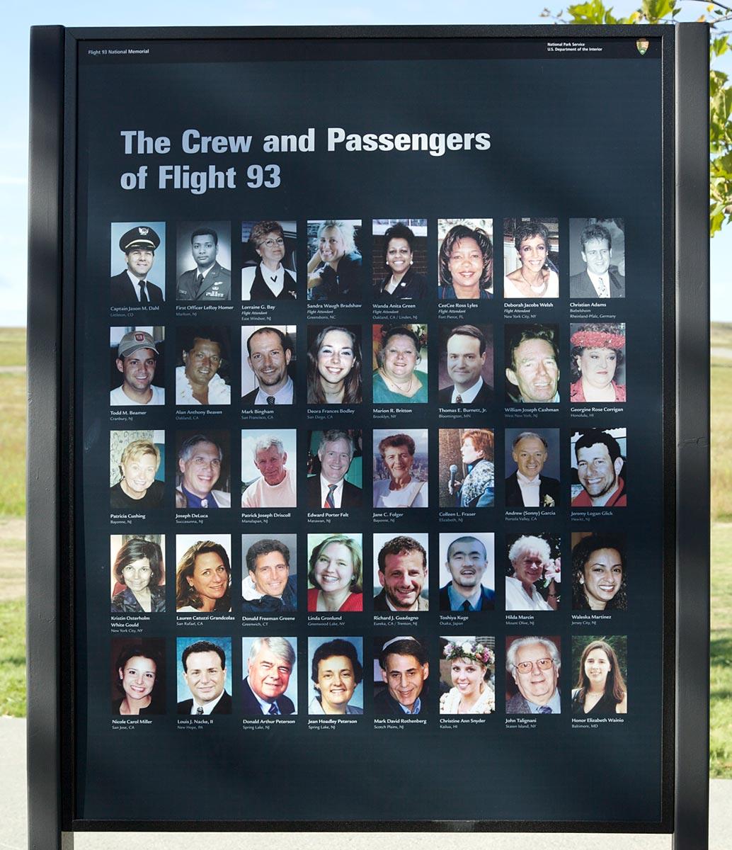Images of Flight 77 Passengers - #SpaceHero