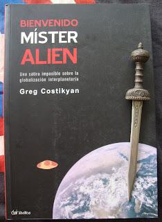 Portada del libro Bienvenido míster Alien, de Greg Costikyan