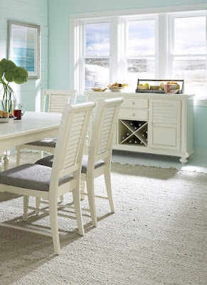 coastal dining room chairs at Baer's Furniture