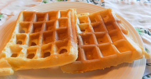 Nine for Dinner: Buttermilk Cornmeal Waffles