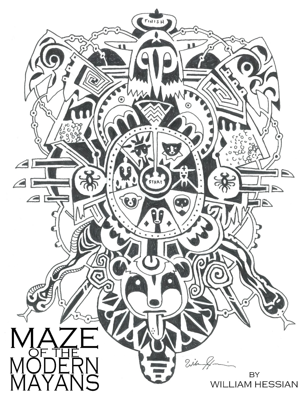 Bearded Bunny Blog Free Printable Mazes