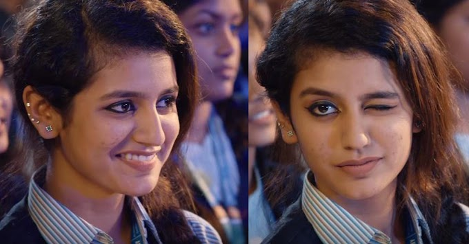 Why Priya prakash varrier is become so popular on Internet In just over a day