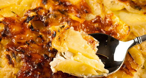 Scalloped Potatoes Recipe / Potato Gratine
