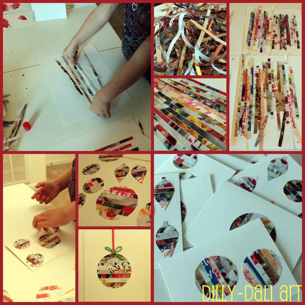 Dilly Dali Art Creative Christmas Countdown Day 2