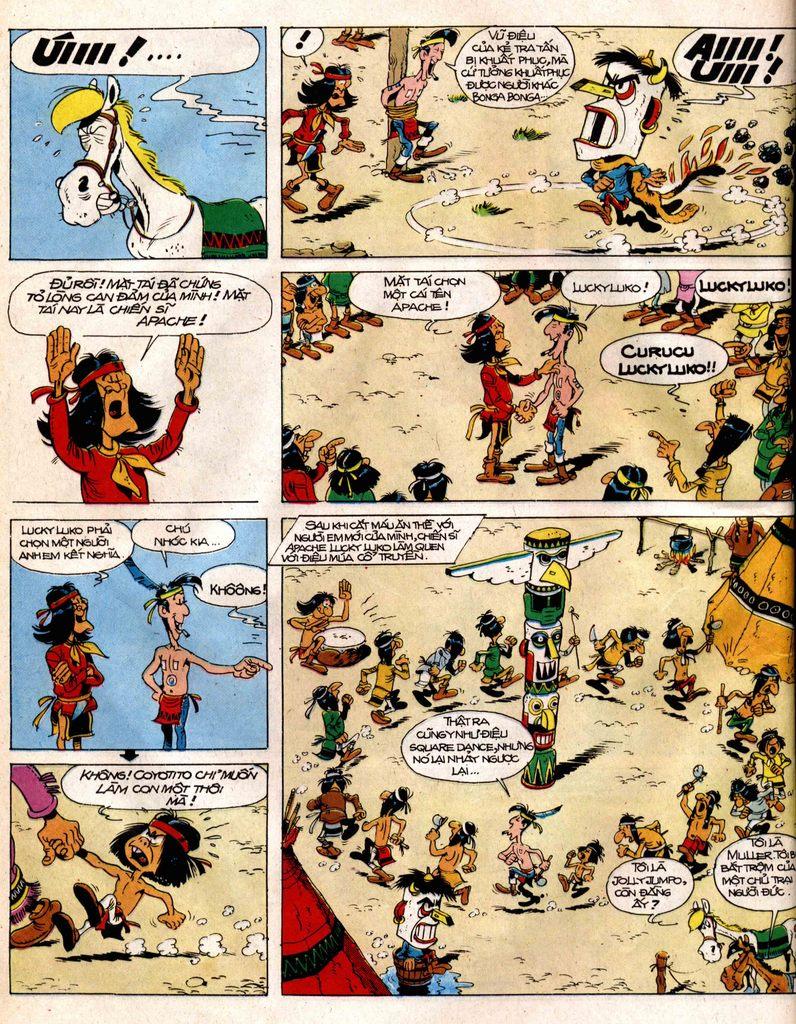 Lucky Luke tap 12 - khe vuc apache trang 26