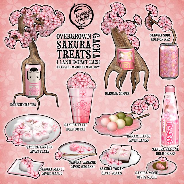 Schadenfreude Overgrown Sakura Treats