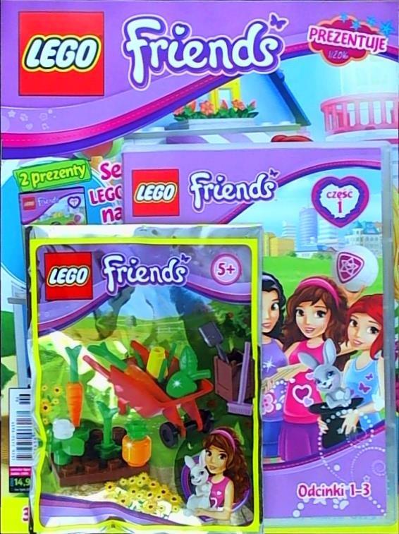 Lego Friends Prezentuje Zapowiedź Dodatki W Kiosku 2 Sklepy