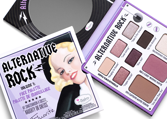 TheBalm Alternative Rock Vol. 1 Face Palette Review Swatches Photos