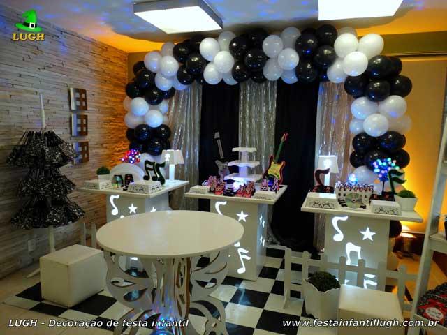 Mesa temática festa Discoteca
