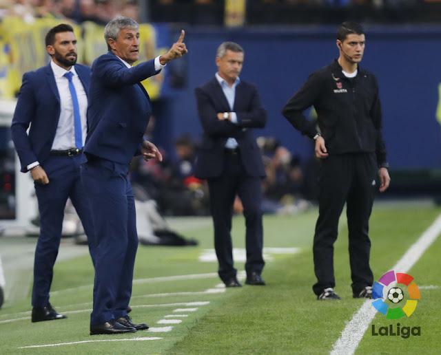 Quique Setien entrenador de UD Las Palmas