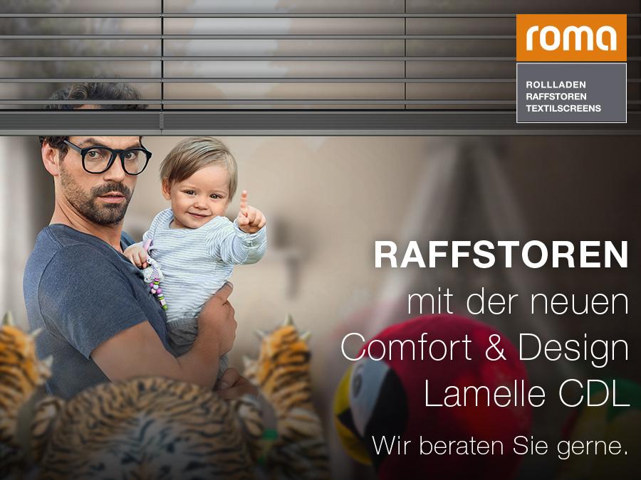Die Comfort & Design Lamelle ROMA CDL neu im TV und ab sofort bei ...