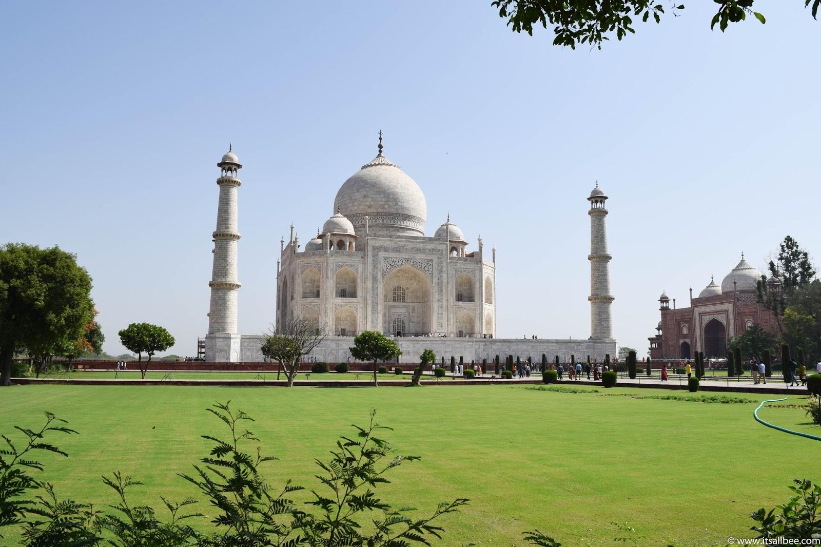 Taj Mahal In Photo