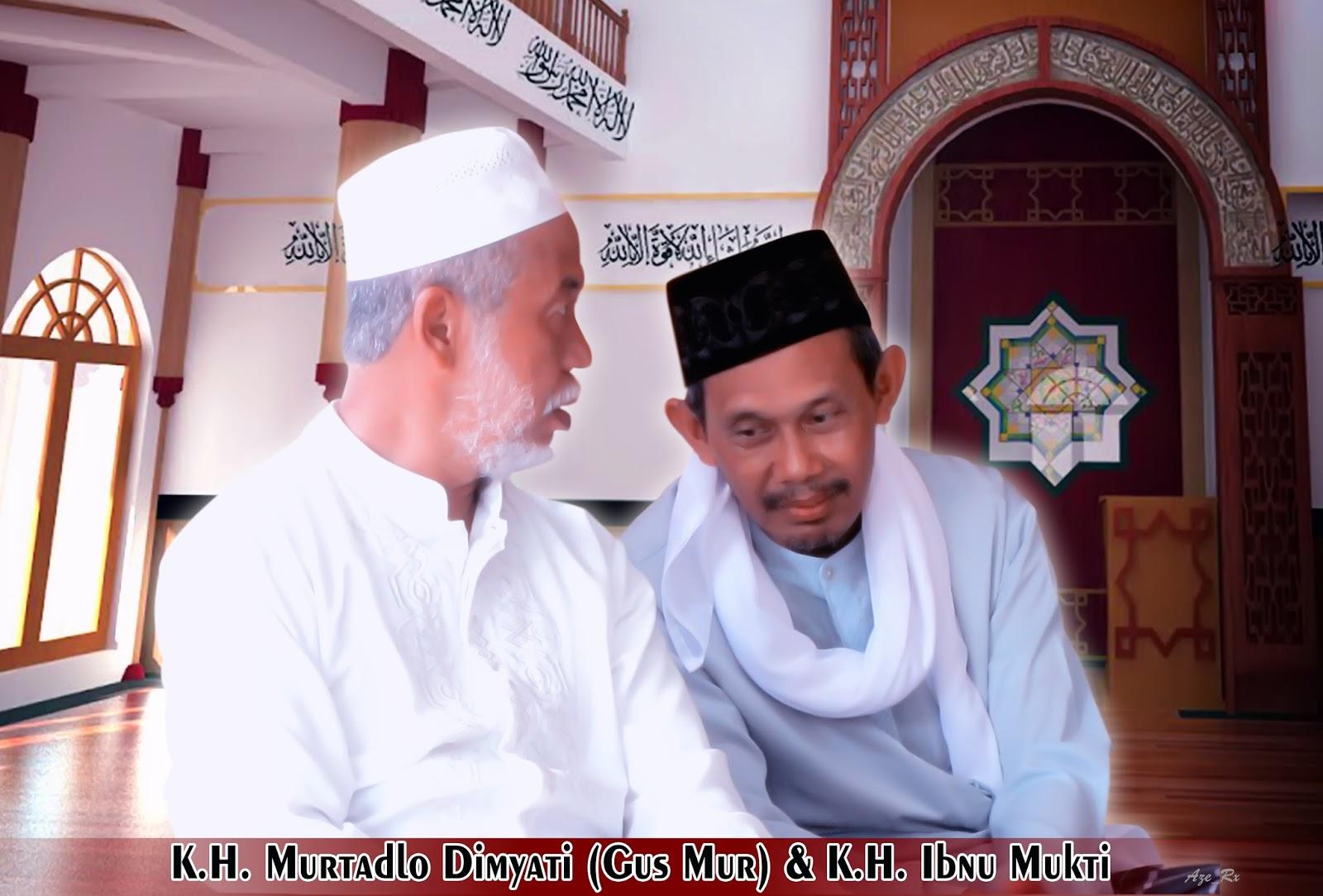 KH Ibnu Mukti dan KH Murtadho Dimyati