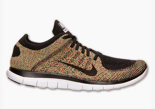 THE SNEAKER ADDICT: Nike Free Flyknit 4.0 Multi Color