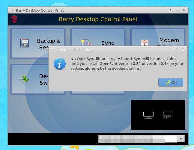 Barry Desktop: Yet Another BlackBerry Desktop Manager for Linux
