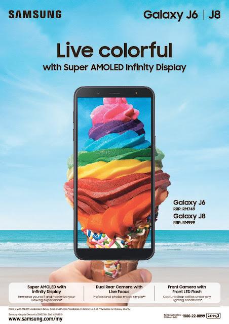 Samsung Galaxy J6 | Samsung Galaxy J8