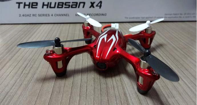 Drone Selfie Tebaik - Hubsan X4