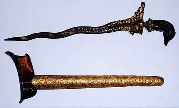 Senjata tradisional keris Jambi