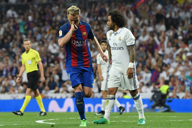 barcelona se lleva el ultimo clasico del año con goleada 3-0 frente al real madrid