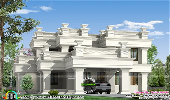 3200 sq-ft decorative luxury home