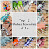 Top 12 - Unhas Favoritas 2015