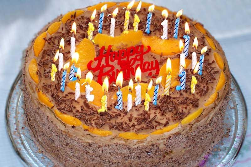 English Song Birthday Cake