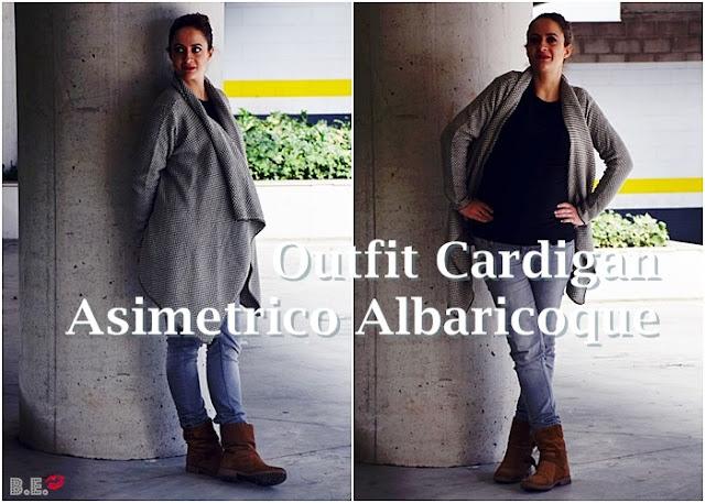 Outfit-cardigan-asimetrico-albaricoque