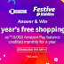 ALL Answers Of AMAZON Festive Riddles Quiz to win 1 Year Free Shopping