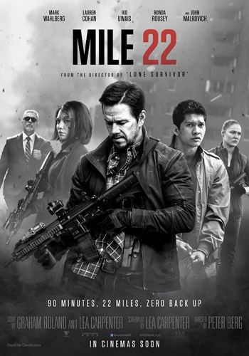 Mile 22 2018 Clean English HDCam 480p 250MB | HDMoviesPlus