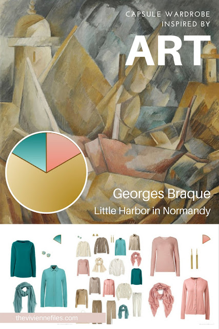 The French 5-Piece Wardrobe Starts with Art: Little Harbor in Normandy by Georges Braque