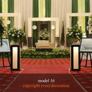 dekorasi pelaminan pengantin - wedding ~ penyewaan alat pesta