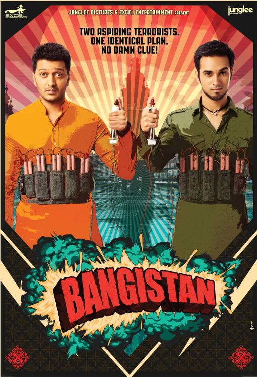 Bangistan (2015) full hd Hindi 480p WEB-DL 400MB