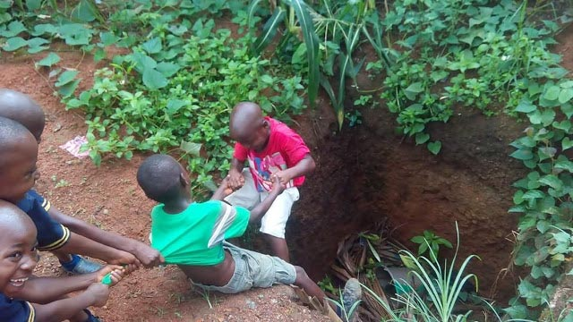 Aww! See how these children helped themselves out of trouble