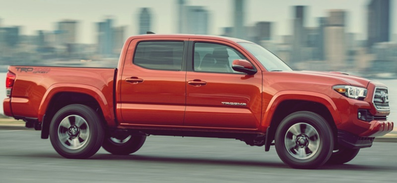 2018 Toyota Tacoma Extended Cab, Trd