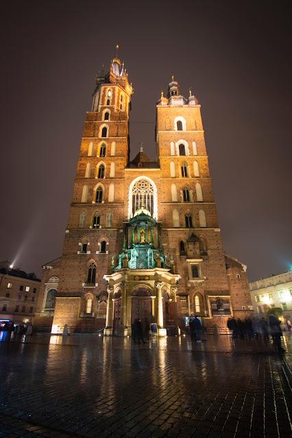 Basilica di Santa Maria-Rynek Glowny-Cracovia