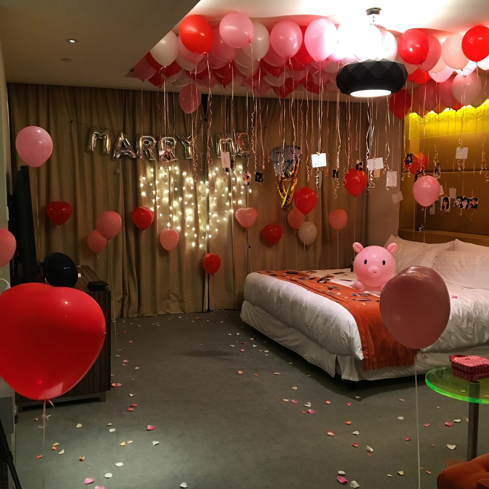 Romantic Decorations For Hotel Rooms